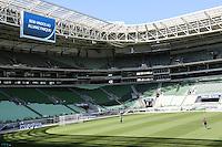 SAO PAULO, SP, 30.10.2014 - TREINO PALMEIRAS - ALLIANZ PARQUE - Jogadores do Palmeiras durante sessão de treinamento no Allianz Parque na Barra Funda regiao oeste de Sao Paulo, nesta quinta-feira, 31. (Foto: Vanessa Carvalho / Brazil Photo Press).