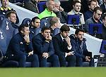 Tottenham's Mauricio Pochettino looks on dejected<br /> <br /> - Barclays Premier League - Tottenham Hotspur vs Stoke City- White Hart Lane - London - England - 9th November 2014  - Picture David Klein/Sportimage