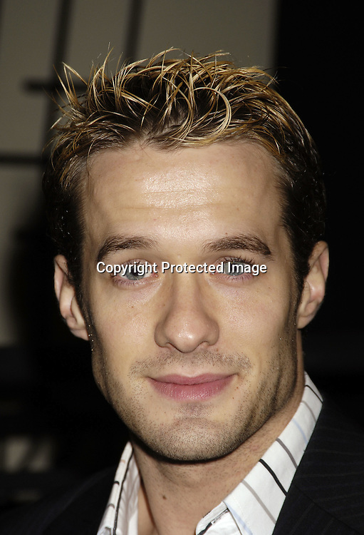 Matthew Metzger ..at ABC Casino Night on October 27, 2005 at The Lighthouse at Chelsea Piers. ..Photo by Robin Platzer, Twin Images