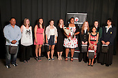 Junior Sportswoman of the Year finalists. Counties Manukau Sport Sporting Excellence Awards held at the Telstra Clear Pacific Events Centre Manukau on December 1st 2011.