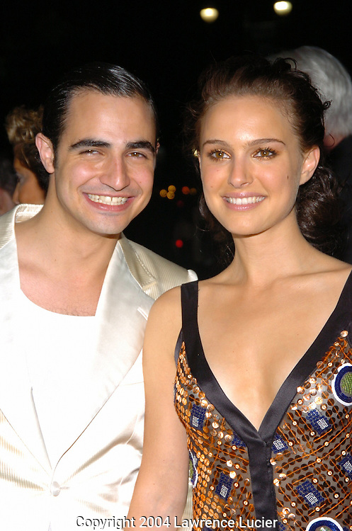 Zac Posen and Natalie Portman