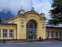 Bahnhof von Meran-Merano, Bozen &ndash; S&uuml;dtirol, Italien<br /> Station, Meran-Merano, province Bozen-South Tyrol, Italy