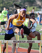 OAA Track Meet at Rochester Adams High School, 5/8/14