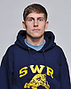Jack Del Duca of Shoreham-Wading River poses for a portrait during the 2015 Newsday Players to Watch wrestling photo shoot at company headquarters on Monday, Dec. 14, 2015.
