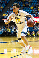 Morgantown, WV - NOV 18, 2017: West Virginia Mountaineers forward Teddy Allen (13) in action during game between West Virginia and Morgan State at WVU Coliseum Morgantown, West Virginia. (Photo by Phil Peters/Media Images International)