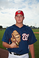 Sam Solis of the Washington Nationals at the Washington Nationals Training Complex in Viera, Florida August 28 2010. Solis was the Washington Nationals 2nd round pick (51st overall) of the 2010 MLB Draft. Photo By Scott Jontes/Four Seam Images
