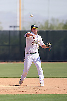 Chad Lewis - Oakland Athletics - 2010 Instructional League.Photo by:  Bill Mitchell/Four Seam Images..
