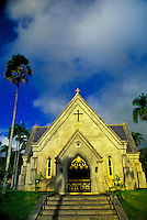 The Royal Mausoleum on Oahu holds the remains of generations of Hawaiian Kings and Queens and is the site of cultural events.