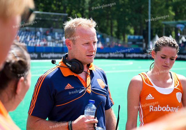27/06/2015<br /> HWL Semi Final Antwerp Belgium 2015<br /> Netherlands v Italy Women<br /> Sjoerd Marijne<br /> Photo: Grant Treeby