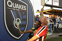 SAN JOSE, CA - JULY 06: Krazy George during a Major League Soccer (MLS) match between the San Jose Earthquakes and Real Salt Lake on July 06, 2019 at Avaya Stadium in San Jose, California.