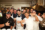 New York, NY - August 22, 2017: Chef Matt Abdoo and Robert Shawger of Pig Beach and Pig Bleeker present a New York City Barbecue Bash at the James Beard House in Greenwich Village.<br /> <br /> <br /> Credit: Clay Williams for The James Beard Foundation.<br /> <br /> &copy; Clay Williams / http://claywilliamsphoto.com