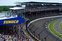 Verizon IndyCar Series<br /> Indianapolis 500 Race<br /> Indianapolis Motor Speedway, Indianapolis, IN USA<br /> Sunday 28 May 2017<br /> Will Power, Team Penske Chevrolet, Alexander Rossi, Andretti Herta Autosport with Curb-Agajanian Honda,Ryan Hunter-Reay, Andretti Autosport Honda, Max Chilton, Chip Ganassi Racing Teams Honda, Fernando Alonso, McLaren-Honda-Andretti Honda<br /> World Copyright: F. Peirce Williams<br /> LAT Images