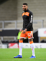 Blackpool's Michael Nottingham during the pre-match warm-up<br /> <br /> Photographer Chris Vaughan/CameraSport<br /> <br /> The EFL Sky Bet League One - Burton Albion v Blackpool - Saturday 16th March 2019 - Pirelli Stadium - Burton upon Trent<br /> <br /> World Copyright &copy; 2019 CameraSport. All rights reserved. 43 Linden Ave. Countesthorpe. Leicester. England. LE8 5PG - Tel: +44 (0) 116 277 4147 - admin@camerasport.com - www.camerasport.com