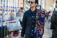Imran Amed at Paris Fashion Week (Photo by Hunter Abrams/Guest of a Guest)