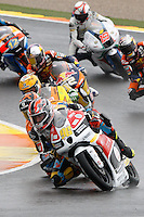 11.11.2012 SPAIN GP Generali de la Comunitat Valenciana Moto 3  Race. The picture show  Louis Rossi (French rider Racing Team Germany HONDA)