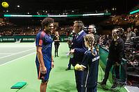 ABN AMRO World Tennis Tournament, Rotterdam, The Netherlands, 14 februari, 2017, Jo-Wilfried Tsonga (FRA)<br /> Photo: Henk Koster