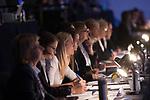 British Gymnastics Championships 2017<br /> Judges & Officials<br /> Liverpool Echo Arena<br /> 30.07.17<br /> ©Steve Pope - Sportingwales