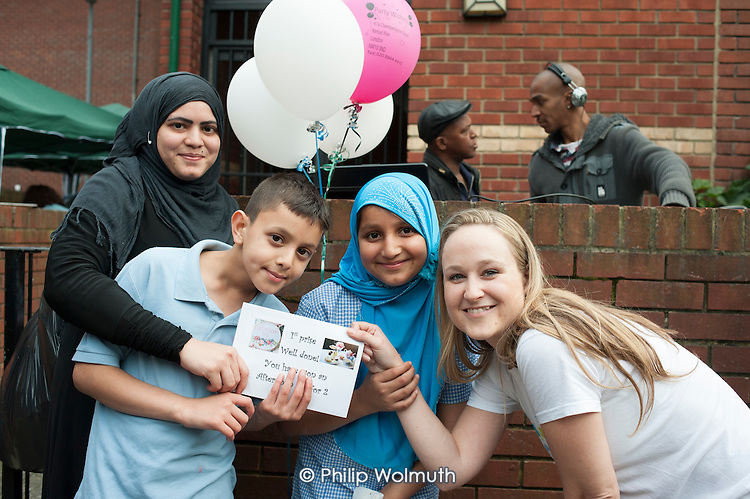 Community Champions street party, Mozart Estate, Paddington.