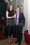 Nicola Brunty and Shane Byrne at the Drogheda Boys Anniversary Dinner.<br /> <br /> Photo: Jenny Matthews
