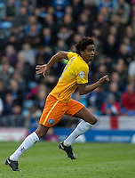 Sido Jombati of Wycombe Wanderers during the Sky Bet League 2 match between Portsmouth and Wycombe Wanderers at Fratton Park, Portsmouth, England on 23 April 2016. Photo by Andy Rowland.