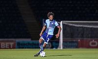 Sido Jombati of Wycombe Wanderers in action during the Sky Bet League 2 match between Wycombe Wanderers and Accrington Stanley at Adams Park, High Wycombe, England on 16 August 2016. Photo by Andy Rowland.