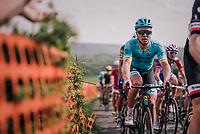 Michael Valgren (DEN/Astana) up La Redoute<br /> <br /> 104th Li&egrave;ge - Bastogne - Li&egrave;ge 2018 (1.UWT)<br /> 1 Day Race: Li&egrave;ge - Ans (258km)