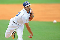 16 May 2010:  FIU's Aaron Arboleya (29) pitches in the first inning as the FIU Golden Panthers defeated the University of South Alabama Jaguars, 5-0, at University Park Stadium in Miami, Florida.