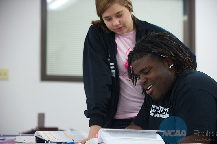 08 MAR 2011: Campus life photos taken at Emporia State University in Emporia, KS. Stephen Nowland/NCAA Photos