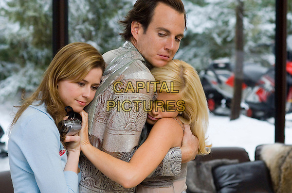 JENNA FISCHER, WILL ARNETT & AMY POEHLER.in Blades Of Glory .**Editorial Use Only**.CAP/FB.Supplied by Capital Pictures
