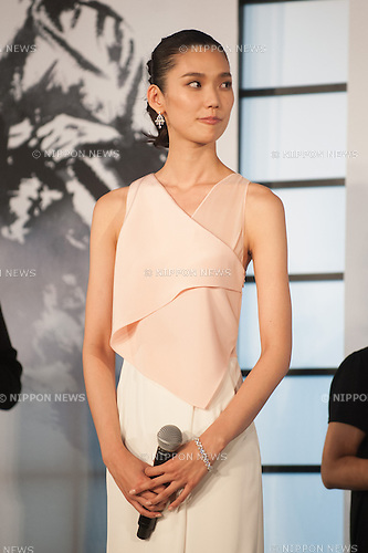 August 28, 2013 : Tokyo, Japan – Japanese model TAO appears at the Japan Premiere for The Wolverine by James Mangold in the Roppongi Hills, Tokyo, Japan. (Photo by Yumeto Yamazaki/AFLO)