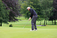 Stephen Walsh (Portmarnock) on the 2nd during round 1 of The Mullingar Scratch Cup in Mullingar Golf Club on Sunday 3rd August 2014.<br /> Picture:  Thos Caffrey / www.golffile.ie