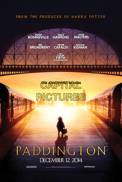POSTER ART<br /> in Paddington (2014) <br /> *Filmstill - Editorial Use Only*<br /> CAP/FB<br /> Image supplied by Capital Pictures