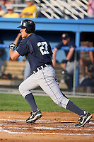 July 23 2008:  First baseman Wade Lamont of the Oneonta Tigers, Class-A affiliate of the Detroit Tigers, during a game at Dwyer Stadium in Batavia, NY.  Photo by:  Mike Janes/Four Seam Images