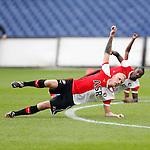 Nederland, Rotterdam, 27 juni 2012.Seizoen 2012-2013.Eerste training Feyenoord.Nieuwe aankoop Lex Immers van Feyenoord