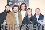 MOUNTAINEERING LECTURE: Attending the lecture and slide show by world famous explorer Joe Simpson in St Marys Parish Hall, Killarney, last Friday night were, l-r: Gene Tangney, Black Valley, Mike Shea, Con Moriarty, Joe Simpson and Paul OCallaghan Beaufort. .