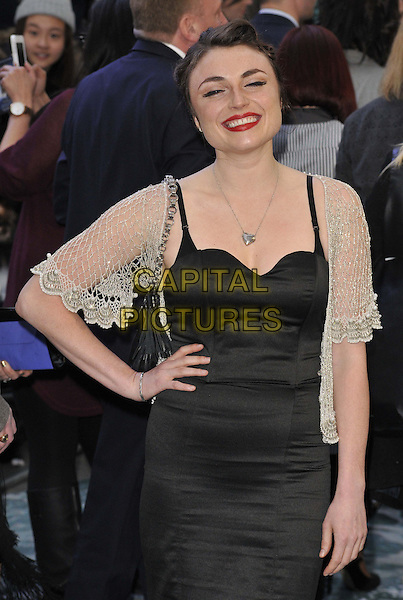 LONDON, ENGLAND - MARCH 31: Lois Winstone attends the &quot;Noah&quot; UK film premiere, Odeon Leicester Square cinema, Leicester Square, on Monday March 31, 2014 in London, England, UK.<br /> CAP/CAN<br /> &copy;Can Nguyen/Capital Pictures