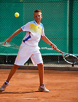 05-08-13, Netherlands, Dordrecht,  TV Desh, Tennis, NJK, National Junior Tennis Championships, Wietse Post <br /> <br /> <br /> Photo: Henk Koster