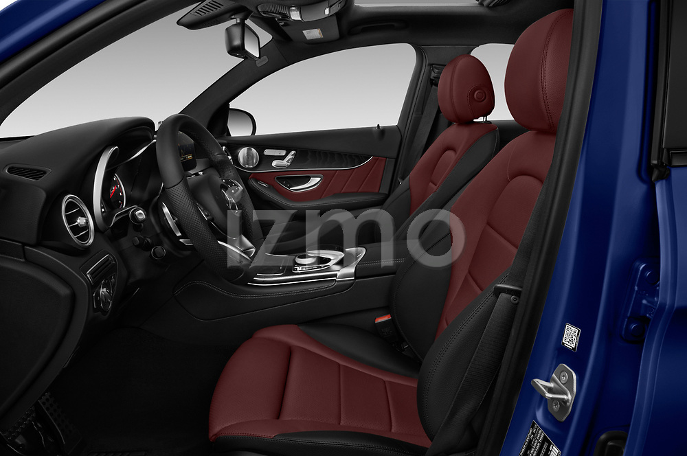 Front seat view of a 2018 Mercedes Benz GLC Coupe GLC300 4WD 5 Door SUV front seat car photos