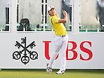 Soomin Lee of Korea tees off the first hole during the 58th UBS Hong Kong Golf Open as part of the European Tour on 10 December 2016, at the Hong Kong Golf Club, Fanling, Hong Kong, China. Photo by Marcio Rodrigo Machado / Power Sport Images