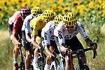 The peloton with Michal Kwiatkowski (POL) Team Sky in action during Stage 16 of the 104th edition of the Tour de France 2017, running 165km from Le Puy-en-Velay to Romans-sur-Isere, France. 18th July 2017.<br /> Picture: ASO/Alex Broadway | Cyclefile<br /> <br /> <br /> All photos usage must carry mandatory copyright credit (&copy; Cyclefile | ASO/Alex Broadway)