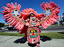 Mardi Gras Indians celebrate Super Sunday in Central City