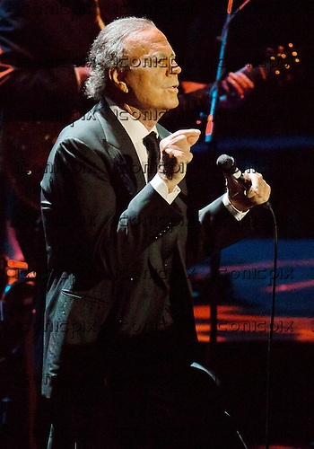 Julio Iglesias - performing live at The Royal Albert Hall in London UK - 13 May 2014.  Photo credit: Iain Reid/IconicPix