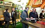 UTRECHT -  Duchell stand. , A tribe called Golf, de kracht van de connectie. Nationaal Golf Congres van de NVG 2014 , Nederlandse Vereniging Golfbranche. COPYRIGHT KOEN SUYK