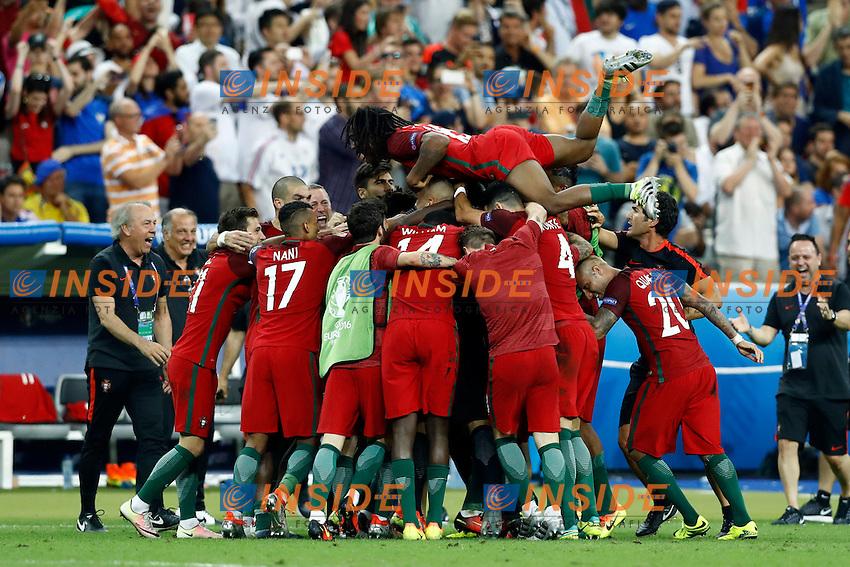 Esultanza Gol Eder (Portugal) goal celebration<br /> Paris 10-07-2016 Stade de France Football Euro2016 Portugal - France / Portogallo - Francia Finale/Finals<br /> Foto Matteo Ciambelli / Insidefoto