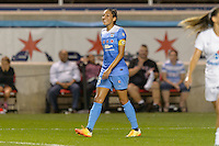 Chicago, IL - Wednesday Sept. 07, 2016: Christen Press during a regular season National Women's Soccer League (NWSL) match between the Chicago Red Stars and FC Kansas City at Toyota Park.