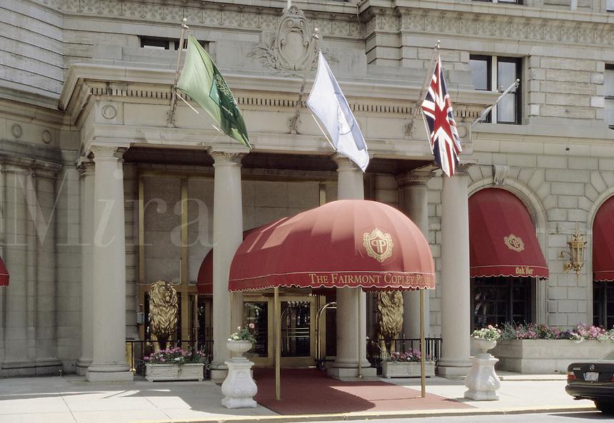 Boston, Mass..The Fairmont Copley Plaza Hotel on Copley Plaza