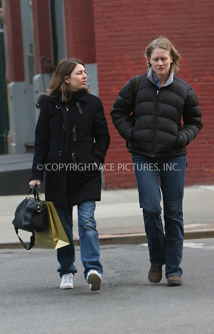 WWW.ACEPIXS.COM ************....March 5 2010, New York City....Director Sophia Coppola, (L) who is prgnant with her second child, out in Midtown Manhattan on March 5 2010 in New York City....Please byline: Nancy Rivera -- ACEPIXS.COM.. *** ***  ..Ace Pictures, Inc:  ..tel: (646) 769 0430..e-mail: info@acepixs.com..web: http://www.acepixs.com