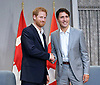 Prince Harry Meets Justin Trudeau