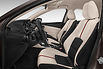Front seat view of a 2015 Mazda Mazda2 Pulse Edition 5 Door Hatchback 2WD Front Seat car photos