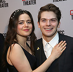 """Molly Gordon and Colton Ryan attends the opening night performance after party for the MCC Theater's 'Alice By Heart' at Kenneth Cole's """"The Garage"""" on February 26, 2019 in New York City."""